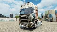Скин Guild Wars 2 Norn на тягач Scania