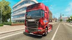 Скин Norway на тягач Scania