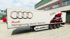 Скин Audi на полуприцеп