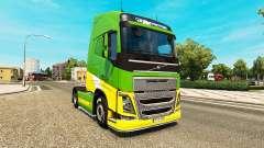 Скин eAcres на тягач Volvo
