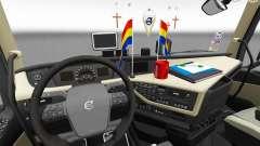 Обновлённые интерьеры Volvo FH