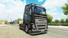 Скин Battlefield 4 v2.0 на тягач Volvo