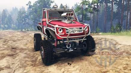 Mercedes-Benz G Bog Beast [03.03.16] для Spin Tires