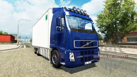 Volvo FH tandem для Euro Truck Simulator 2