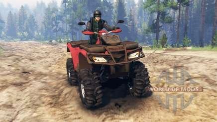 Polaris Sportsman 4x4 v3.0 для Spin Tires