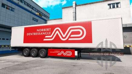Скин Norbert Dentressangle на полуприцеп для American Truck Simulator