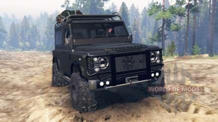 Land Rover Defender 90 Kahn 2013 для Spin Tires