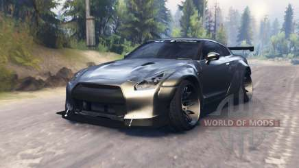 Nissan GT-R (R35) and Toyota GT-86 [03.03.16] для Spin Tires