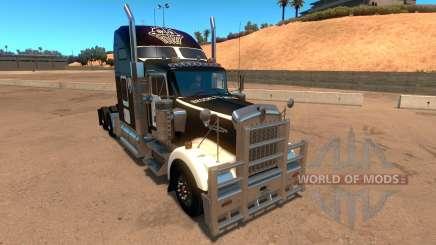 Kenworth W900 Brooklyn Nets Skin для American Truck Simulator