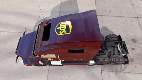 Скин UPS на тягач Volvo VNL 670 для American Truck Simulator