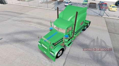 Скин A.J.Lopez на тягач Peterbilt 389 для American Truck Simulator