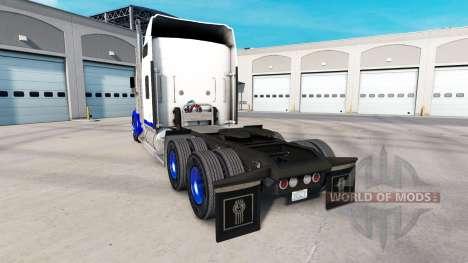 Скин Blue Spike на тягач Kenworth W900 для American Truck Simulator