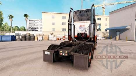 Скин USF на тягач Freightliner FLB для American Truck Simulator