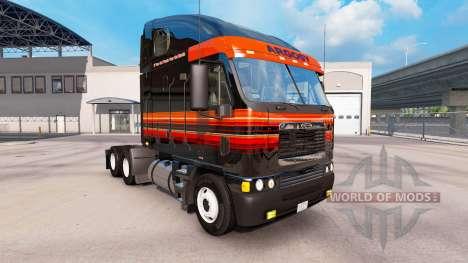 Скин Outlaw на тягач Freightliner Argosy для American Truck Simulator