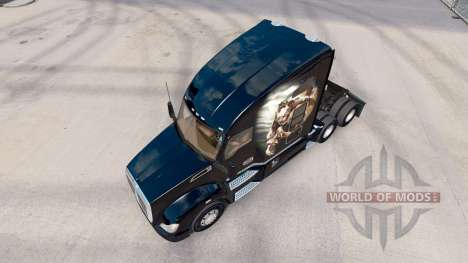Скин Himera на тягач Kenworth для American Truck Simulator