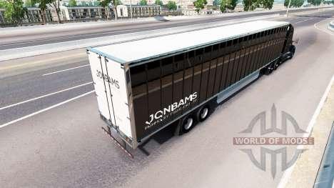Скин JonBams на тягач Kenworth для American Truck Simulator