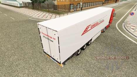 Скин Omega Pilzno на тягач MAN для Euro Truck Simulator 2