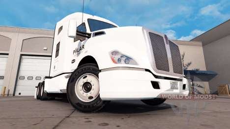 Скин Polar Industries на тягач Kenworth для American Truck Simulator