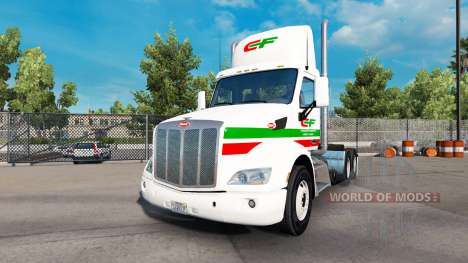 Скин Consildated на тягач Peterbilt 579 Day Cab для American Truck Simulator