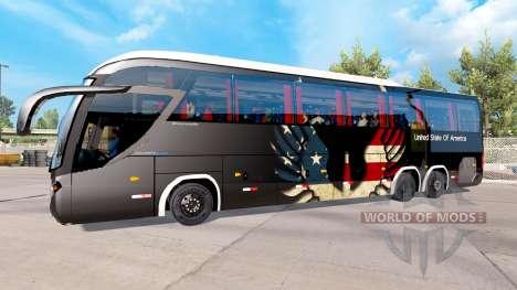 Скин USA на тягач Mascarello Roma 370 для American Truck Simulator