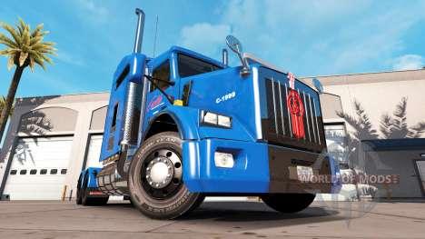 Скин Carlile на тягач Kenworth T800 для American Truck Simulator