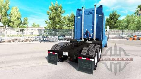 Скин Carlille на тягач Peterbilt для American Truck Simulator