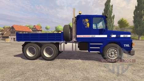 Scania 143h для Farming Simulator 2013