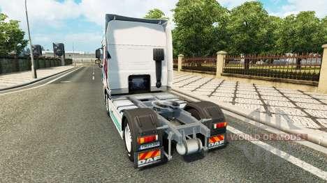 Скин Collin IronMan на тягач DAF для Euro Truck Simulator 2