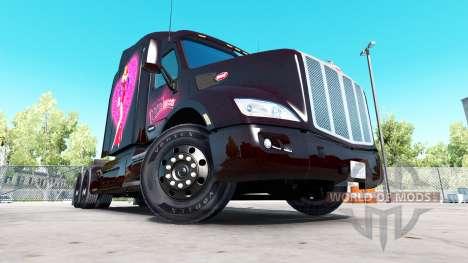 Скин Roger Rabbit Jessica на тягач Peterbilt для American Truck Simulator