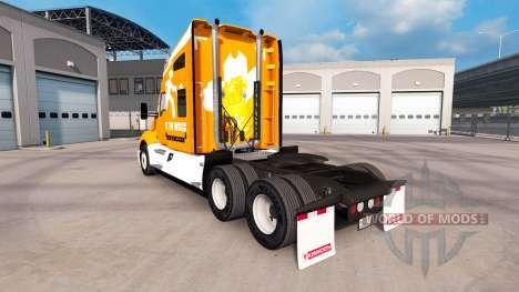 Скин Wok To Walk на тягач Kenworth для American Truck Simulator
