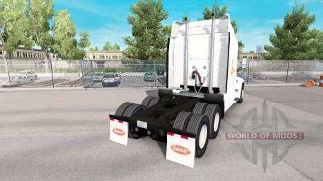 Скин Alsua на тягач Peterbilt для American Truck Simulator