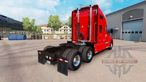 Скин Knights Transportation на тягач Kenworth для American Truck Simulator