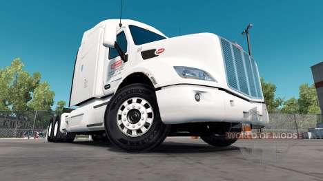 Скин Rusty на тягач Peterbilt для American Truck Simulator