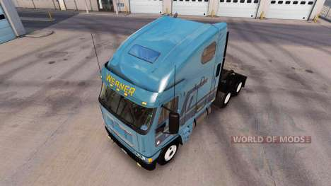 Скин Werner на тягач Freightliner Argosy для American Truck Simulator