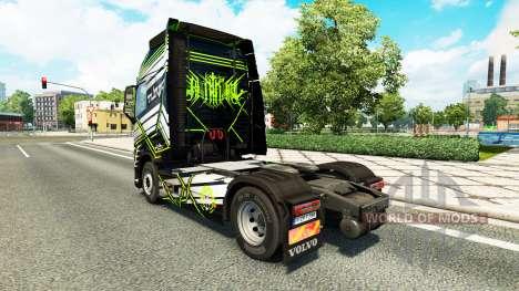 Скин Concept Image на тягач Volvo для Euro Truck Simulator 2