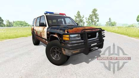 Gavril Roamer Rusted Sheriff для BeamNG Drive