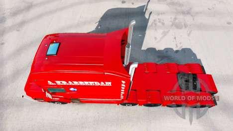 Скин A. Krabbendam на тягач Scania T для American Truck Simulator