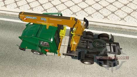 Урал-43202 v7.5 для Euro Truck Simulator 2