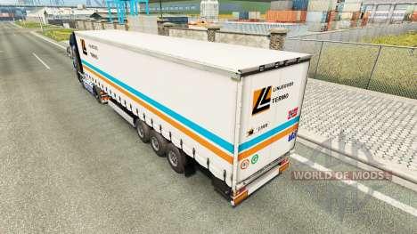 Скин Linjegods на полуприцеп для Euro Truck Simulator 2