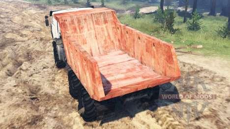 КамАЗ-4311 для Spin Tires