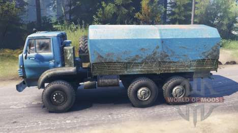 Урал-4322А v2.0 для Spin Tires
