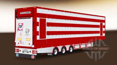 Полуприцеп-скотовоз для Euro Truck Simulator 2