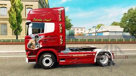 Скин Hawk Edition на тягач Scania для Euro Truck Simulator 2