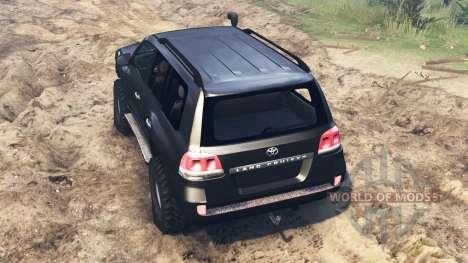 Toyota Land Cruiser 200 для Spin Tires