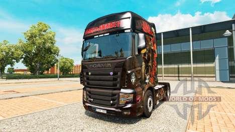 Скин Sons of Anarchy на тягач Scania R700 для Euro Truck Simulator 2