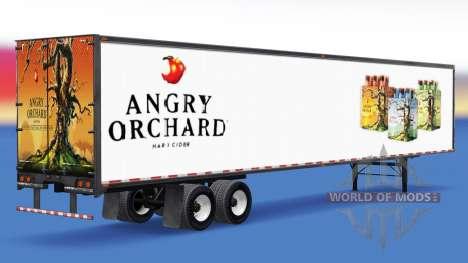 Полуприцеп Angry Orchard для American Truck Simulator