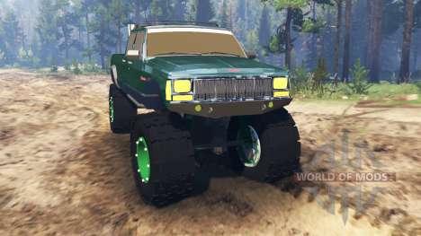 Jeep Grand Cherokee Comanche 4x4 для Spin Tires