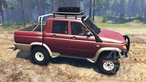 УАЗ-2362 для Spin Tires