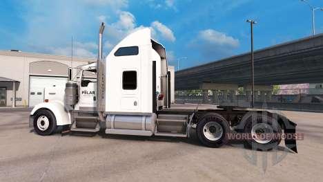 Скин Polar Industries на тягач Kenworth W900 для American Truck Simulator