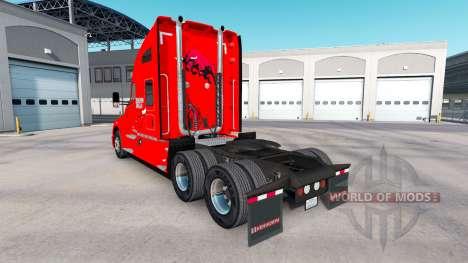 Скин Chicago Bulls на тягач Kenworth для American Truck Simulator
